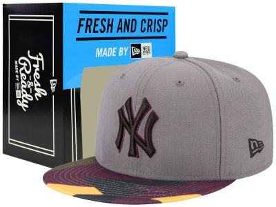 New York Yankees New Era MLB Bordeaux Hook Up 9FIFTY Snapback Cap