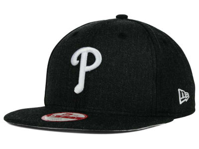 Philadelphia Phillies New Era MLB Heather C-Dub 9FIFTY Snapback Cap