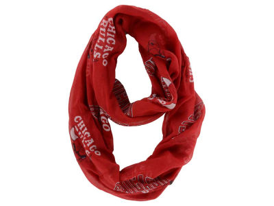 Chicago Bulls Sheer Infinity Scarf