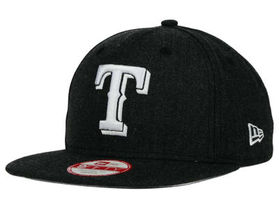 Texas Rangers New Era MLB Heather C-Dub 9FIFTY Snapback Cap
