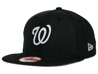 Washington Nationals New Era MLB Heather C-Dub 9FIFTY Snapback Cap