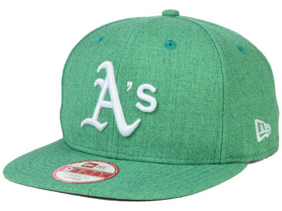 Oakland Athletics New Era MLB Heather C-Dub 9FIFTY Snapback Cap