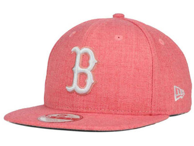 Boston Red Sox New Era MLB Heather C-Dub 9FIFTY Snapback Cap