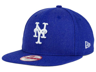New York Mets New Era MLB Heather C-Dub 9FIFTY Snapback Cap