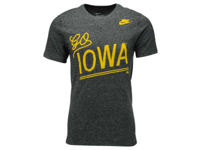 Iowa Hawkeyes Nike NCAA Men's Marled Local Team Vibe T-Shirt