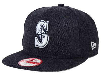 Seattle Mariners New Era MLB Heather C-Dub 9FIFTY Snapback Cap