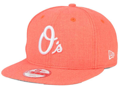 Baltimore Orioles New Era MLB Heather C-Dub 9FIFTY Snapback Cap