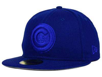 Chicago Cubs New Era MLB Ton-Wool 59FIFTY Cap