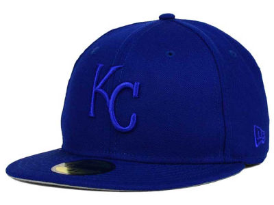 Kansas City Royals New Era MLB Ton-Wool 59FIFTY Cap