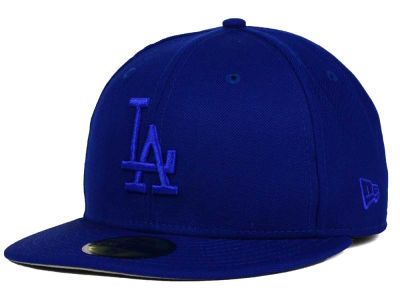 Los Angeles Dodgers New Era MLB Ton-Wool 59FIFTY Cap