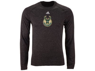 Milwaukee Bucks adidas NBA Men's Pregame Long Sleeve T-Shirt