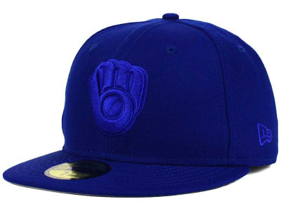 Milwaukee Brewers New Era MLB Ton-Wool 59FIFTY Cap