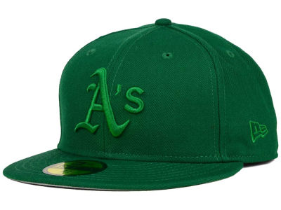 Oakland Athletics New Era MLB Ton-Wool 59FIFTY Cap