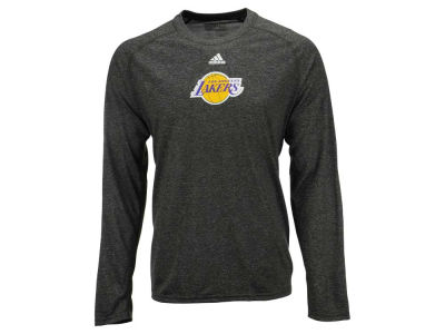 Los Angeles Lakers adidas NBA Men's Pregame Long Sleeve T-Shirt