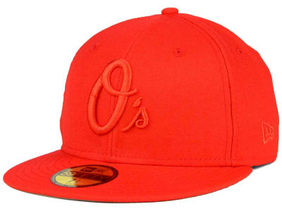 Baltimore Orioles New Era MLB Ton-Wool 59FIFTY Cap