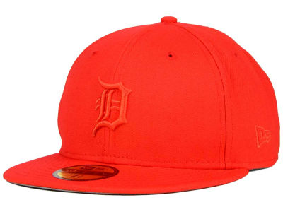 Detroit Tigers New Era MLB Ton-Wool 59FIFTY Cap
