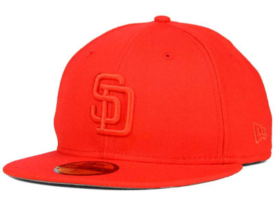 San Diego Padres New Era MLB Ton-Wool 59FIFTY Cap