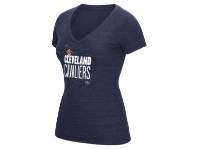 Cleveland Cavaliers adidas NBA Women's Stretched Type T-Shirt