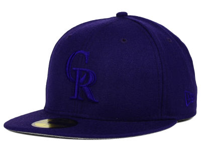 Colorado Rockies New Era MLB Ton-Wool 59FIFTY Cap