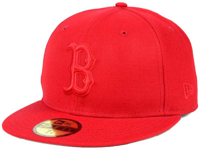 Boston Red Sox New Era MLB Ton-Wool 59FIFTY Cap