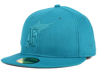 Florida Marlins New Era MLB Ton-Wool 59FIFTY Cap