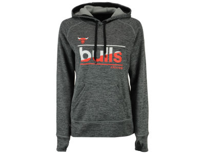 Chicago Bulls adidas NBA Women's Color Slant Hoodie