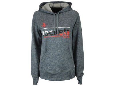 Houston Rockets adidas NBA Women's Color Slant Hoodie