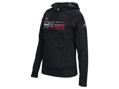Portland Trail Blazers adidas NBA Women's Color Slant Hoodie