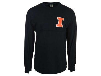 Illinois Fighting Illini NCAA Women's Script Logo Sweeper Shirt