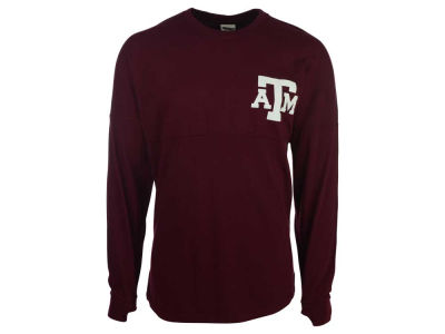 Texas A&M Aggies NCAA Women's Script Logo Sweeper Shirt