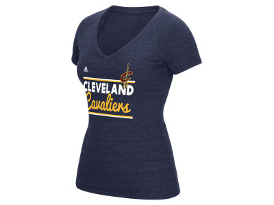 Cleveland Cavaliers adidas NBA Women's Double Bar T-Shirt