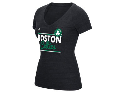 Boston Celtics adidas NBA Women's Double Bar T-Shirt