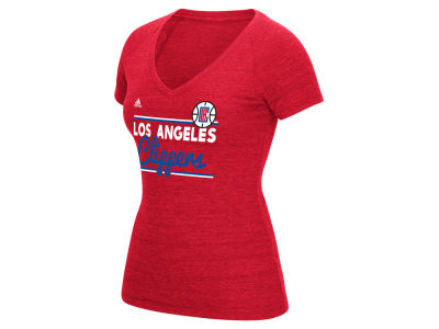 Los Angeles Clippers adidas NBA Women's Double Bar T-Shirt