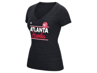 Atlanta Hawks adidas NBA Women's Double Bar T-Shirt