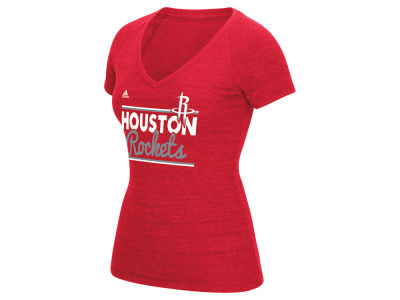 Houston Rockets adidas NBA Women's Double Bar T-Shirt