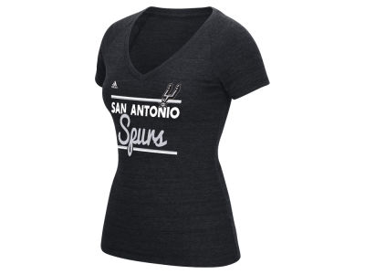 San Antonio Spurs adidas NBA Women's Double Bar T-Shirt