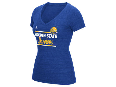 Golden State Warriors adidas NBA Women's Double Bar T-Shirt