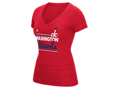 Washington Wizards adidas NBA Women's Double Bar T-Shirt