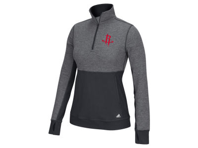 Houston Rockets adidas NBA Women's Climalite 1/4 Zip Jacket
