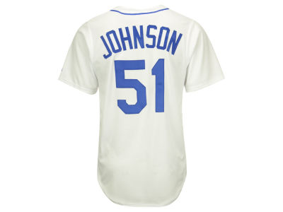 Seattle Mariners Randy Johnson Majestic MLB Men's Cooperstown Player Replica CB Jersey