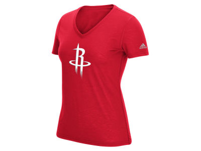 Houston Rockets adidas NBA Women's Climalite Team Logo T-Shirt