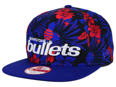 Washington Bullets New Era NBA HWC Wowie 9FIFTY Snapback Cap