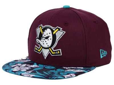 Anaheim Ducks New Era NHL Wowie 9FIFTY Snapback Cap