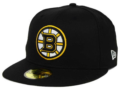 Boston Bruins New Era NHL Stanley Cup Champ Collection 59FIFTY Cap