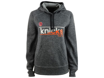 New York Knicks adidas NBA Women's Color Slant Hoodie