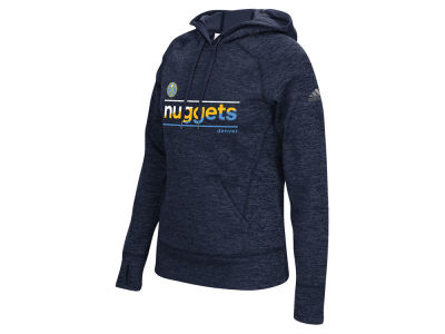 Denver Nuggets adidas NBA Women's Color Slant Hoodie
