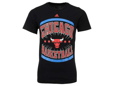 Chicago Bulls adidas NBA Men's CHITOWN Flag T-Shirt