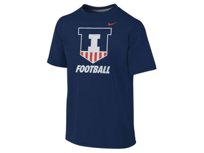 Illinois Fighting Illini NCAA Youth Dri-Fit Legend Logo T-Shirt