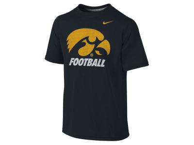 Iowa Hawkeyes NCAA Youth Dri- Fit Legend Logo T-Shirt