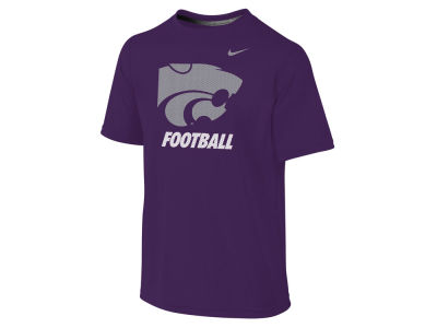 Kansas State Wildcats NCAA Youth Dri-Fit Legend Logo T-Shirt